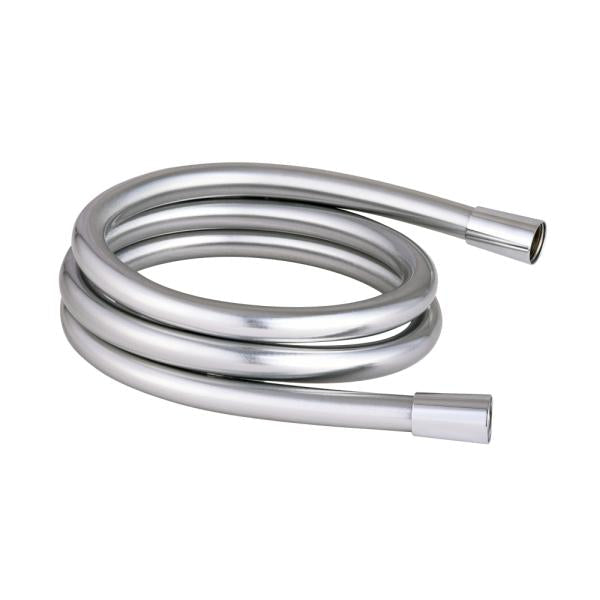 Smooth 1.5m PVC Chrome Hose - TBAC0083