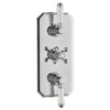 Triple Concealed Thermostatic Shower Valve Traditional Handle - TBAC0093