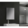 Twin Vertical Spots LED Touch Mirror 500x700x45mm W/ Demist & Shaver Point & Bluetooth - TBAC3001-B