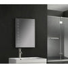 Twin Vertical Spots LED Touch Mirror 500x700x45mm W/ Demist & Shaver Point - TBAC3001