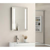 Twin Vertical Strip LED Touch Mirror 500x700x45mm W/ Demist & Shaver Point - TBAC3002