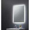 Square Mirror Edge LED 500x700x45mm W/ Demist, Touch - TBAC3017
