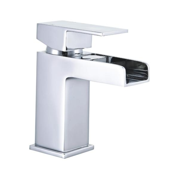 Modern Waterfall Mono Basin Mixer - TBAC5002