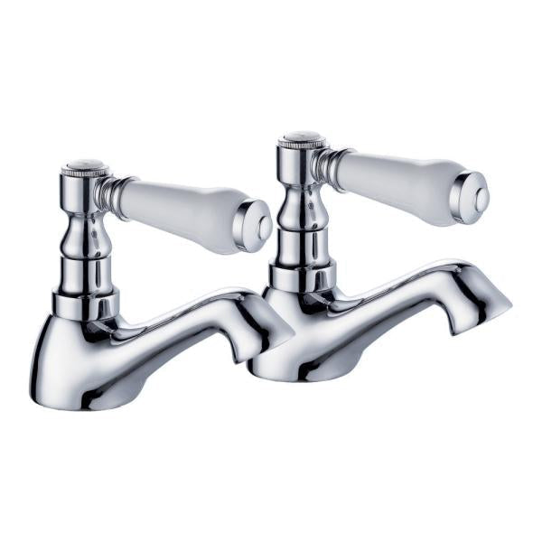 Traditional Ceramic Level Basin Taps - TBAC5025