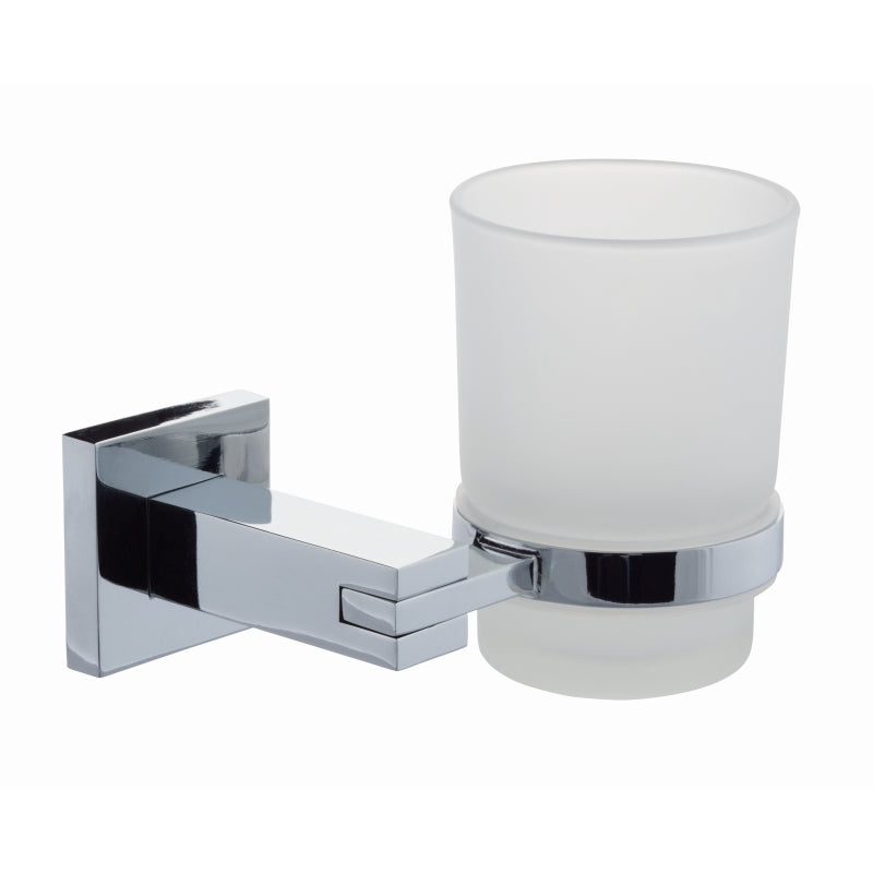 Series 13 Frosted Glass Tumbler & Holder - 270.S13003