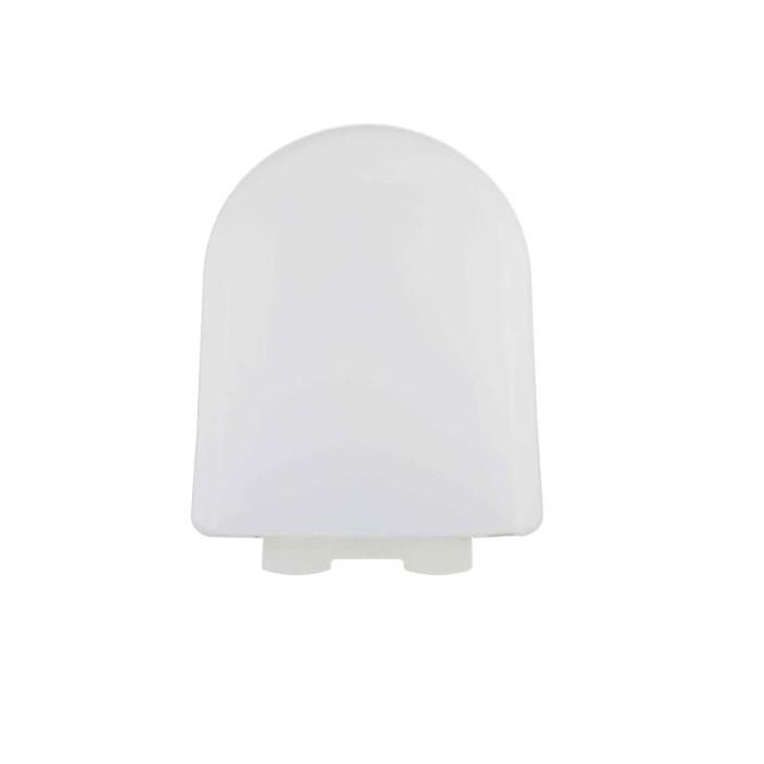 D Shaped Soft Close Quick Release Toilet Seat - SEA003