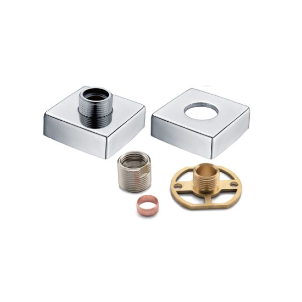 Exposed Square Shower Valve Fixing Kit - TBAC10VE