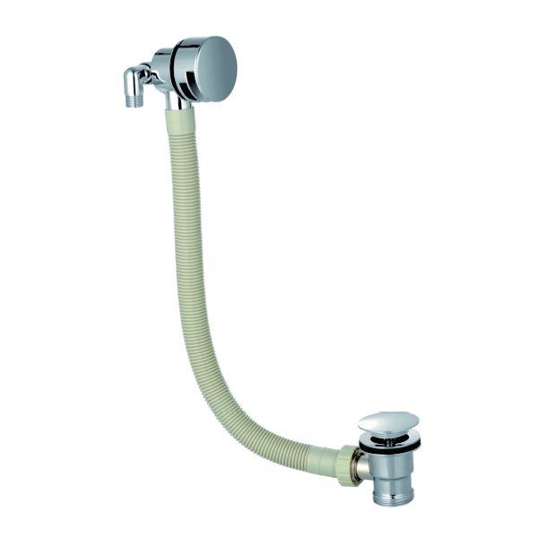 Bath Overflow Filler with Sprung Waste - TBAC10PH