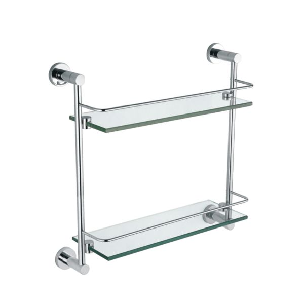 Madison Double Glass Shelf - TBAC46A