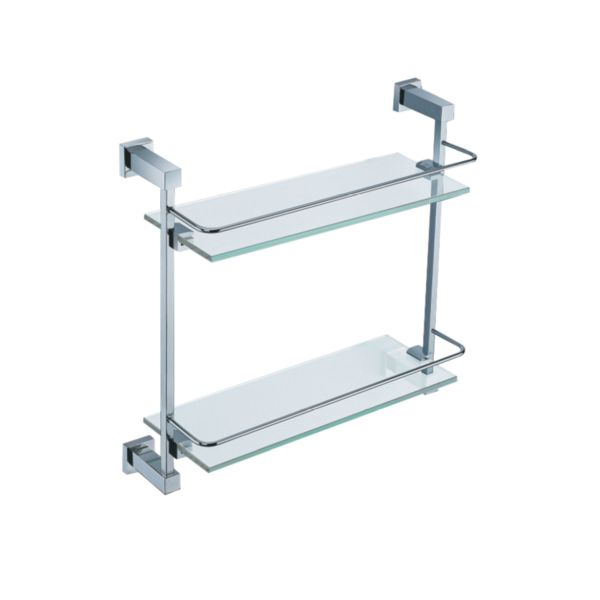 Ruby Double Glass Shelf - TBAC46J