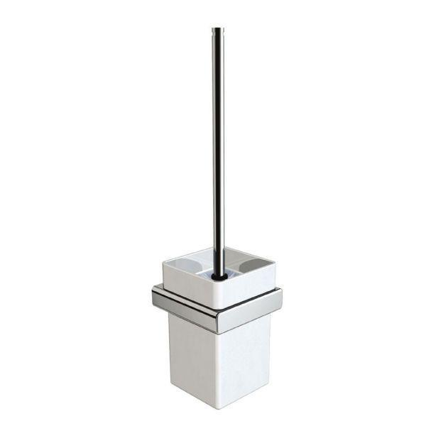 Venezia Freestanding Toilet Brush & Ceramic Holder - PSP359A