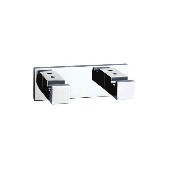 Palermo Double Robe Hook - PSP2552