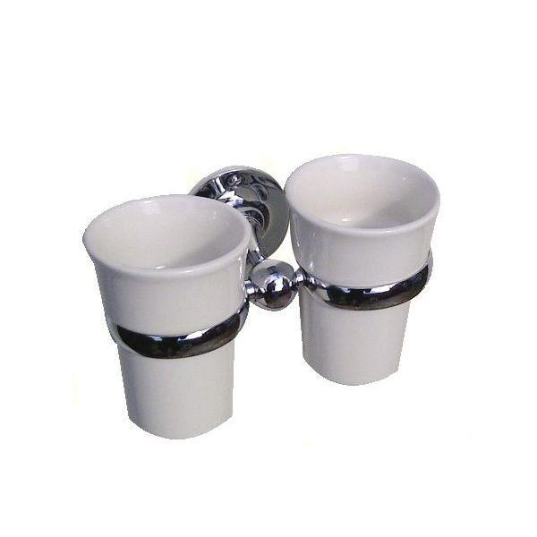 Lincoln Double Tumbler & Holder - PSP990