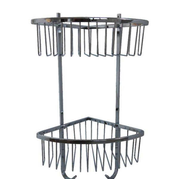 Heavy Duty Double Corner Basket - PSP603
