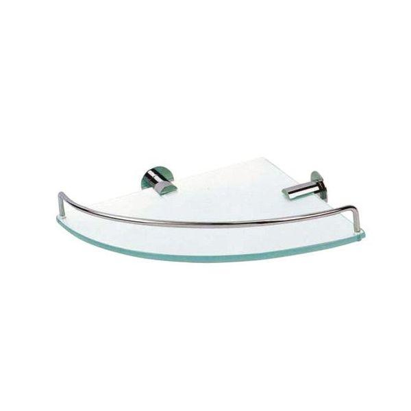 Single Glass Corner Shelf - PSP608