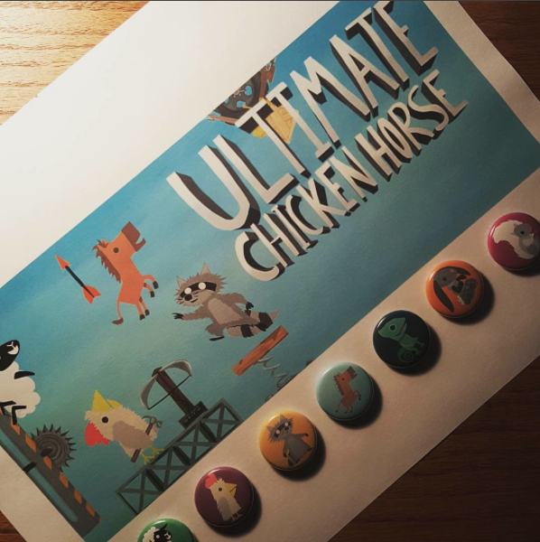 Badges Ultimate Chicken Horse