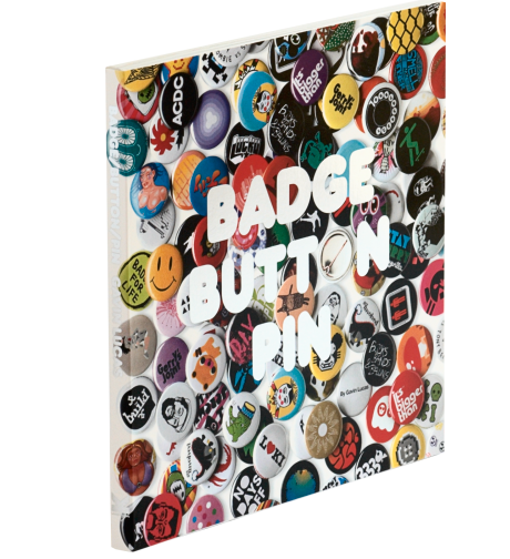 Badge Button Pin | Used book