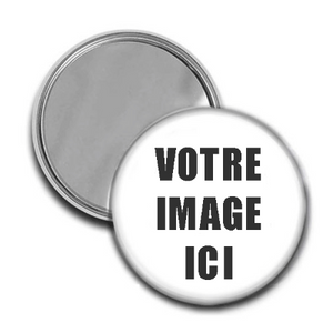 Miroir de poche - article promotionnel personnalise