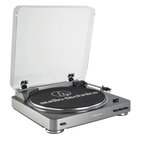 Fully Automatic Belt-Drive USB Turntable with LP-to-Digital Recording AT-LP60-USB