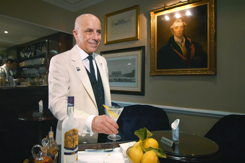 Alessandro Palazzi, Head Barman of Dukes Bar in London's St James's