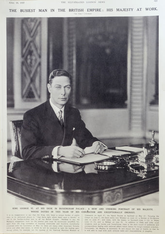 King George VI's wardrobe captured the essence of traditional British tailoring