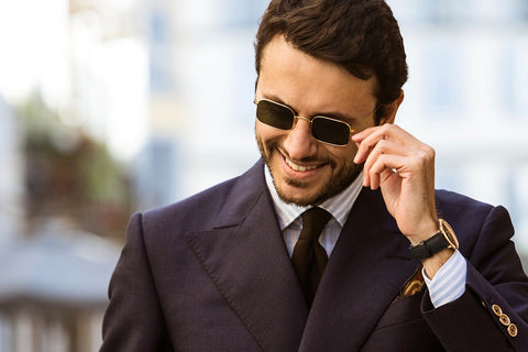 Fabio Attanasio; co-founder of The Bespoke Dudes Eyewear