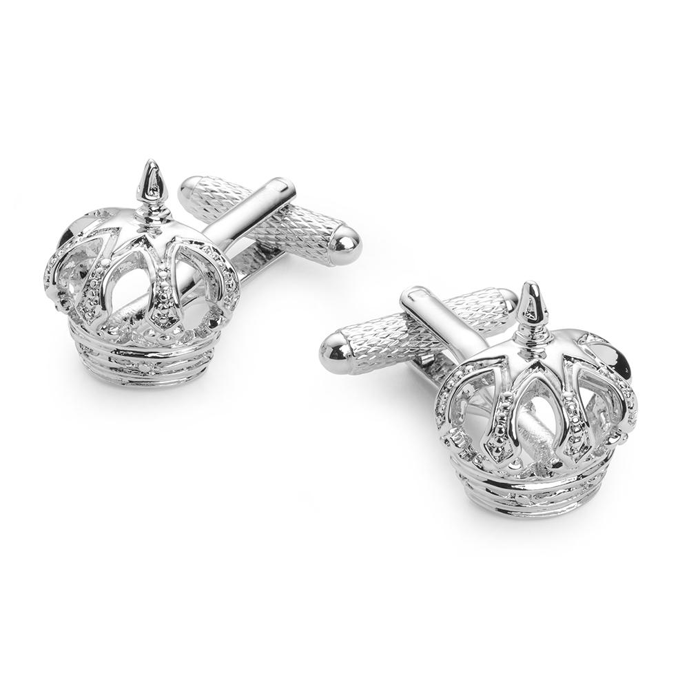 Jewelled Crown Cufflinks