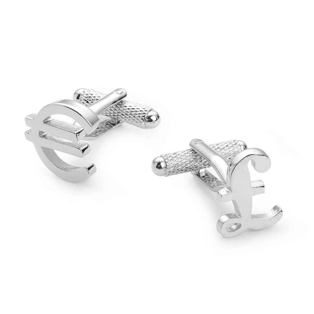 Pound & Euro Cufflinks Cufflinks Not specified