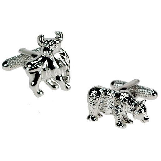 Bull & Bear Cufflinks Cufflinks Not specified