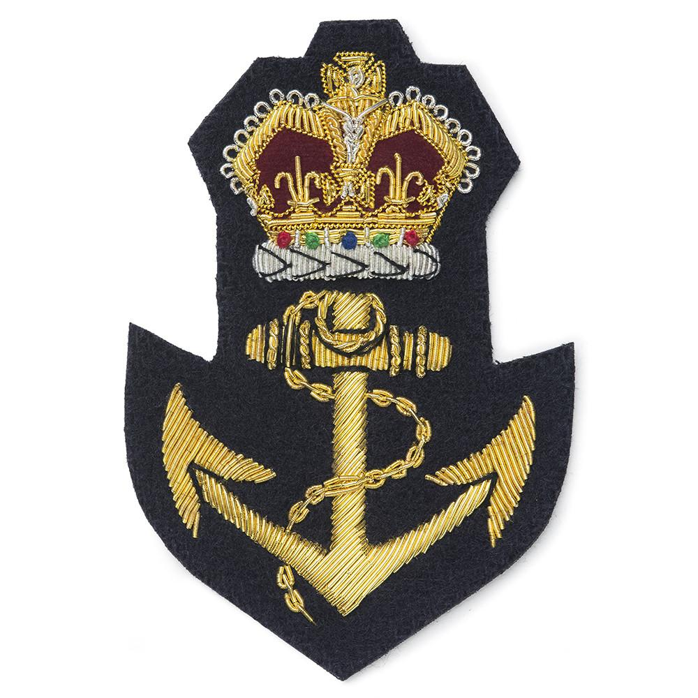 Crown & Anchor Blazer Badge
