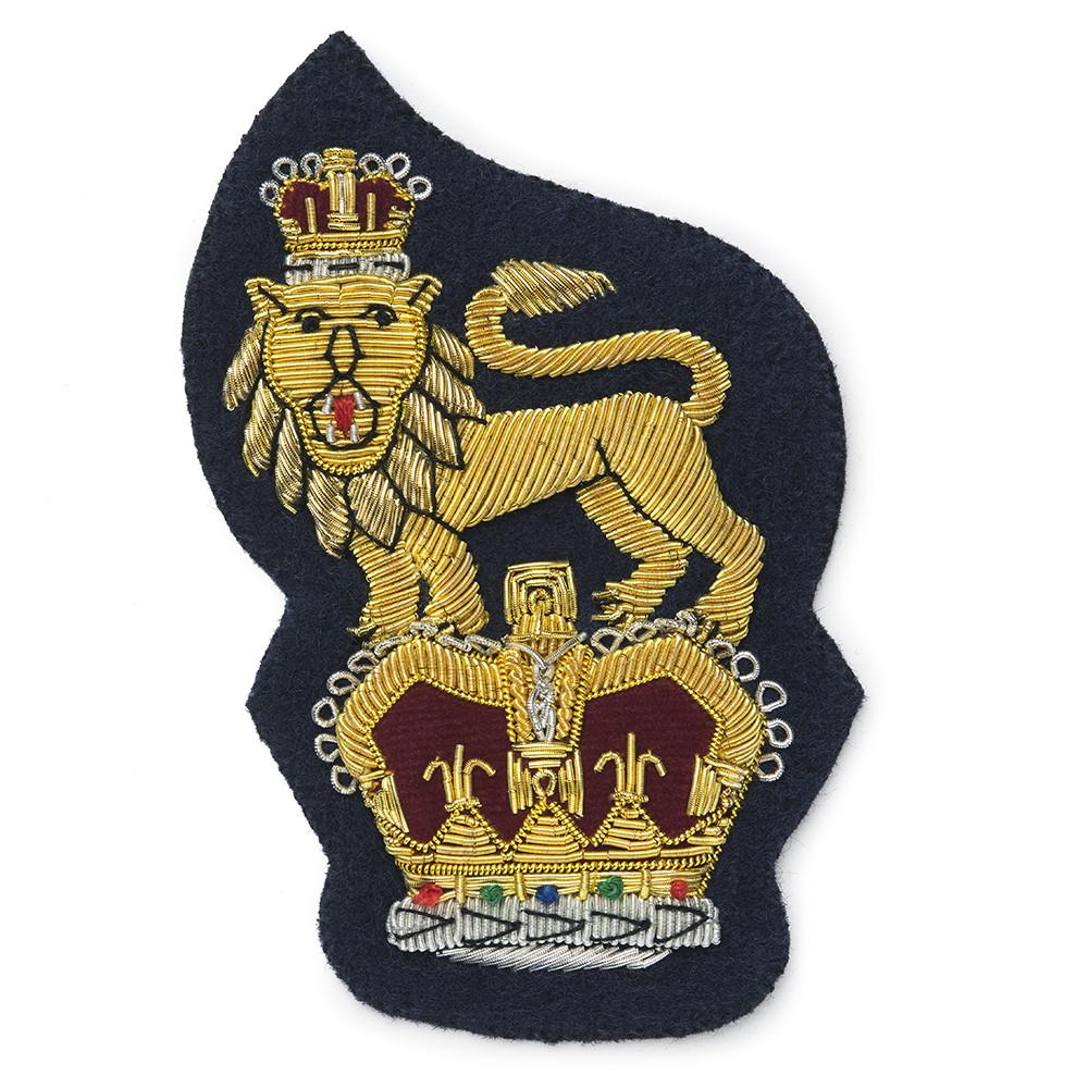 Crown & Lion Blazer Badge