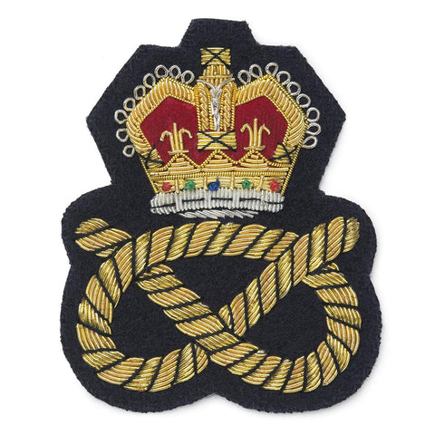 Crown & Knot Blazer Badge
