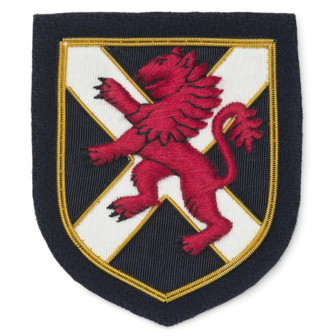 Scottish Lion Blazer Badge