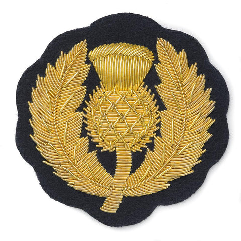 Thistle Blazer Badge