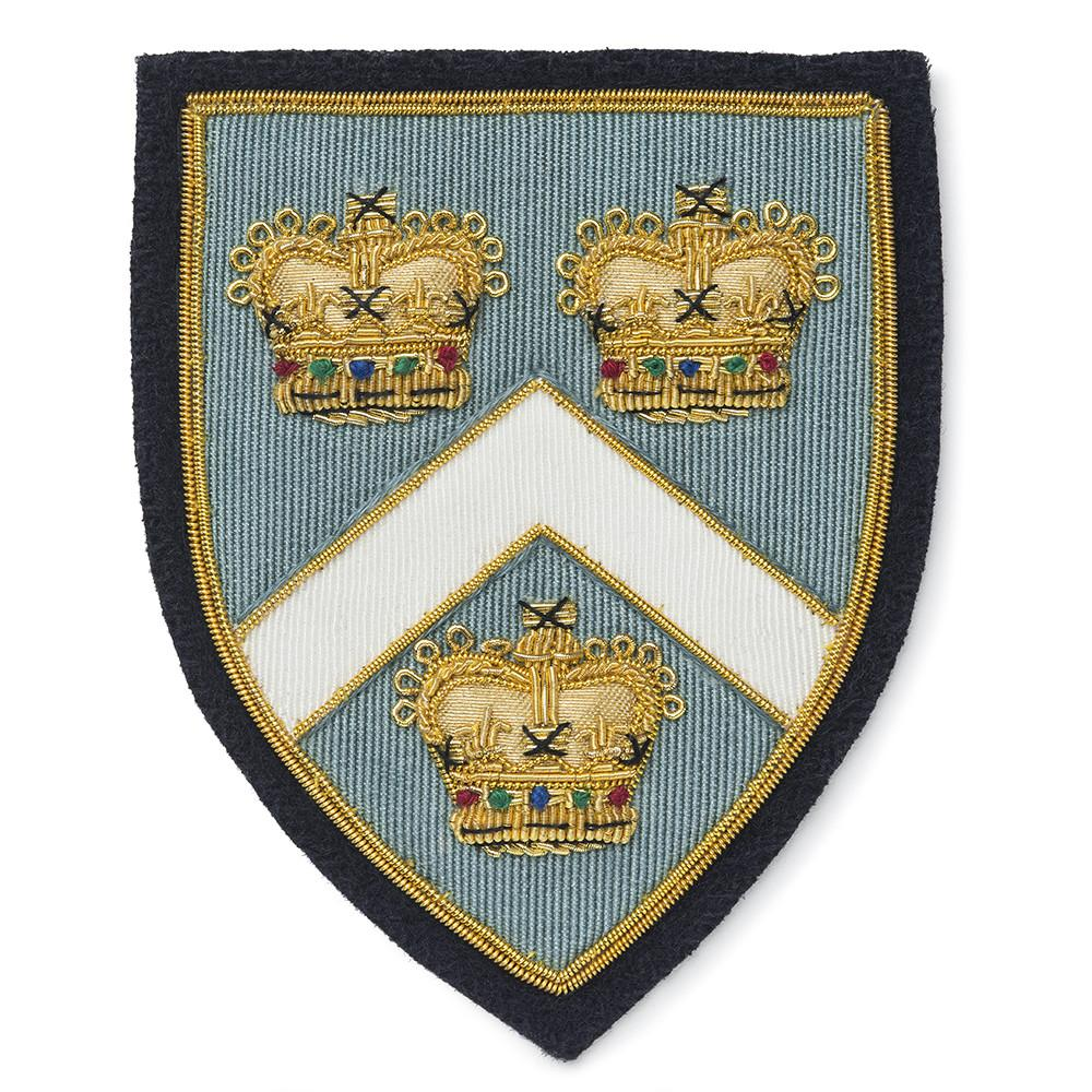 Three Crowns Blazer Badge