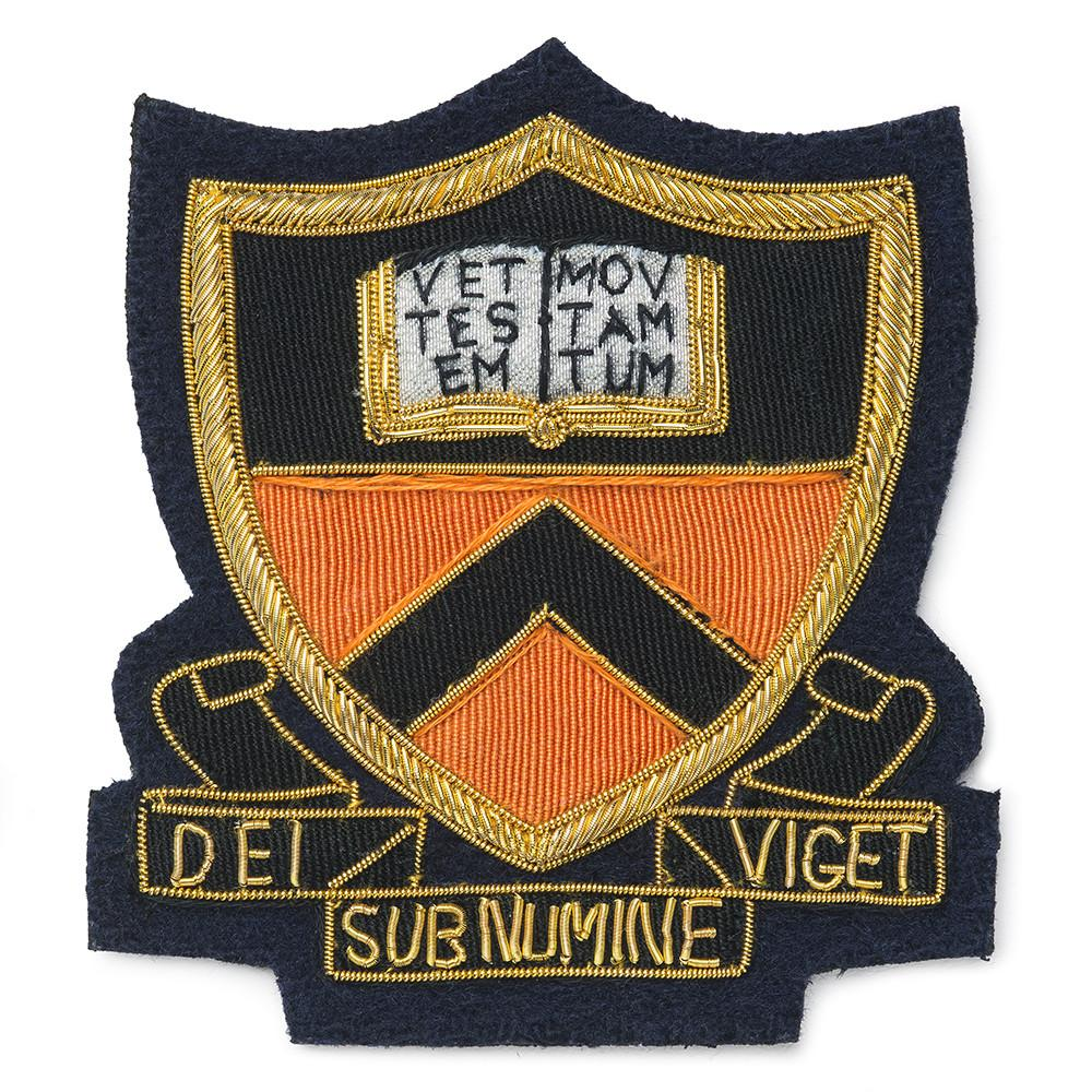 Princeton University Blazer Badge