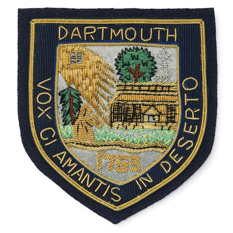 Dartmouth University Blazer Badge