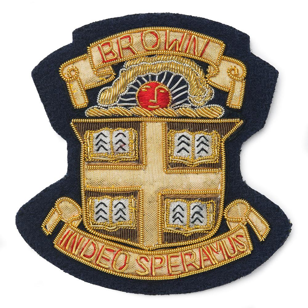 Brown University Blazer Badge
