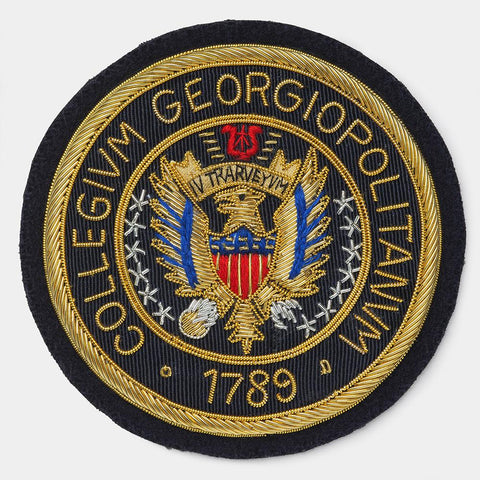 Georgetown University Blazer Badge