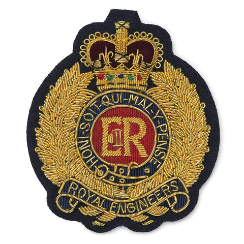 Royal Engineers Blazer Badge Accessories Benson And Clegg