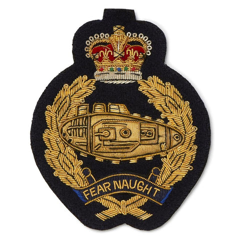 Royal Tank Regiment Blazer Badge
