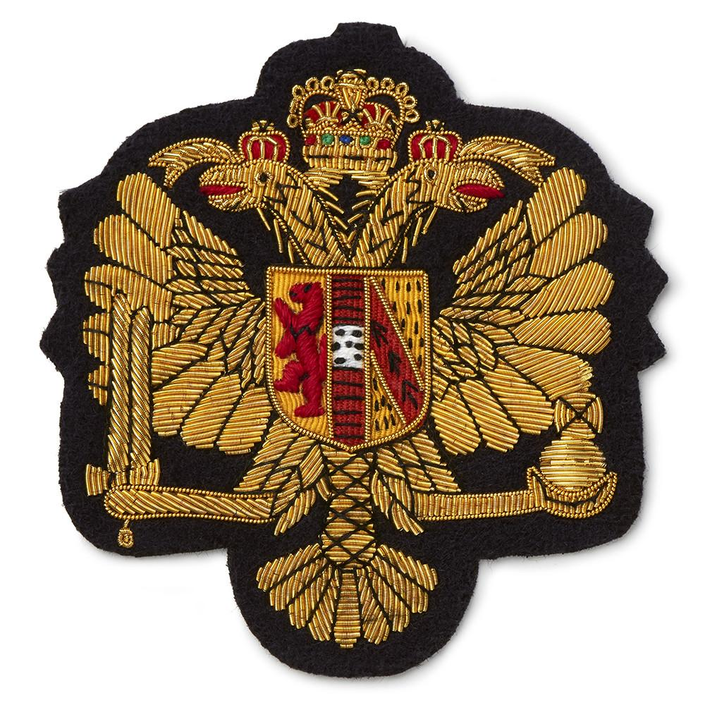 Kings Dragoon Guards Blazer Badge