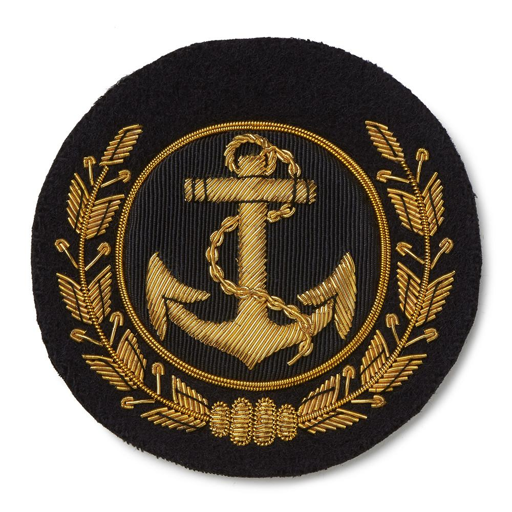 Anchor & Wreath Blazer Badge Accessories Not specified
