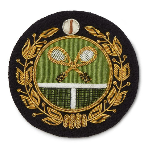 Tennis Blazer Badge