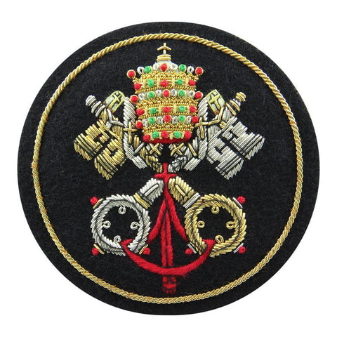 Keys of St Peter Blazer Badge