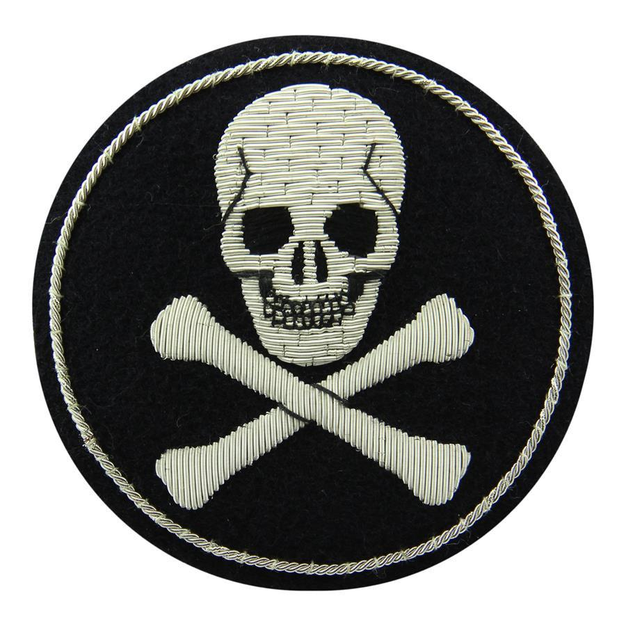 Skull & Crossbones Blazer Badge
