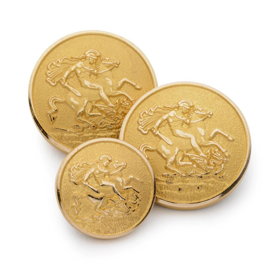 St George & The Dragon Blazer Button