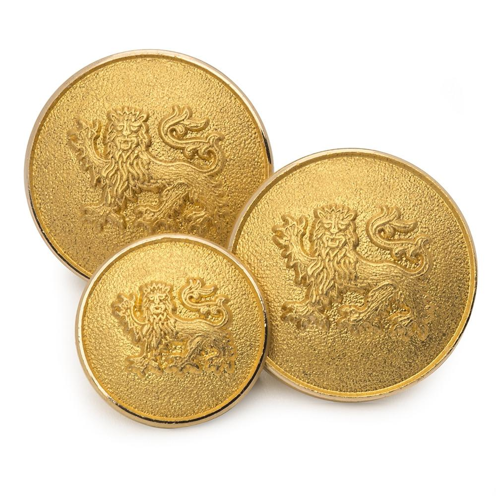Lion Passant Guardant Blazer Button Set (Double Breasted) Blazer Buttons Not specified