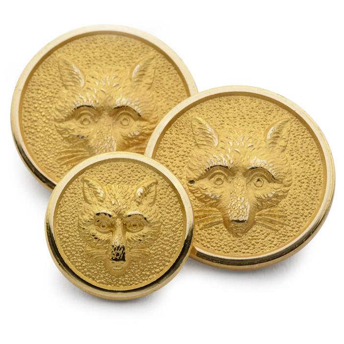 Fox Mask Blazer Button