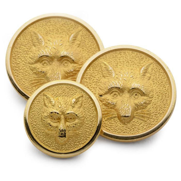Fox Mask Blazer Button Set (Single Breasted) Blazer Buttons Not specified
